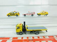 BN56-0,5 #4x wiking H0 / 1:87 AVD / ADAC : Man + VW / Volkswagen + Ford +
