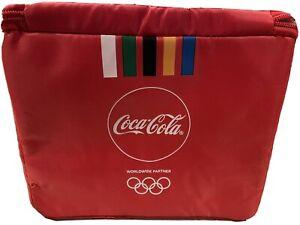 Coca Cola Olympics Cooler Bag