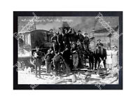 HISTORIC HALL & HALL LOGGING Co. MAPLE VALLEY, WASHINGTON TRAIN POSTCARD