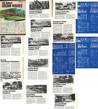 101 SELECT DREAM HOUSE PLANS ATOMIC RANCH MID CENTURY MODERN HOUSE PLANS EICHLER