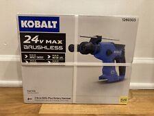 New Listingkobalt 1260303 24v Max Brushless 78 Inch Sds Plus Rotary Hammer Drill Tool