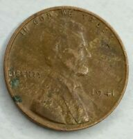 1941 - P - US Lincoln Wheat Cent Woody (Q236)