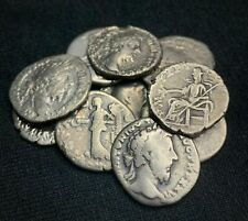 One Random Ancient Roman Silver Denarius Coin - 1500+ Years Old
