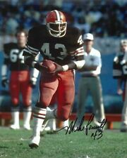 MIKE PRUITT CLEVELAND BROWNS SIGNED 8x10 (8-3) (OSG COA)
