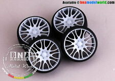 "Hobby Design HD03-0155 1/18 21inch Hamann ""Anodized"" Light Alloy Wheels"