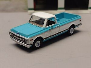 1/87 scale resin kit. 1969-72 Chevy C10 long bed w/photo etched details