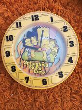 ROUND CLOCK Springfield Skate Crew THE SIMPSONS Bart playworks sangtai