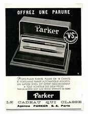 1940 /  Publicité pour les stylos Parker / Ecriture /LD80