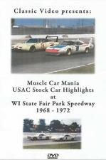 1968-1972 USAC Stock Car Highlights DVD Foyt Unser Superbird Milwaukee Mile