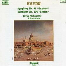 Haydn Filarmonica n. 094 'con il ciel' / N. 104' London' (Naxos, [CD ALBUM]