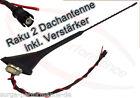16 v Antenne De Toit RAKU II 2 VW Golf 3 4 Passat Polo Lupo Sans Amplificateur