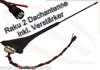 16 V Antenne Dachantenne RAKU 2 II Verstärker Antennenfuss VW GOLF PASSAT NEU