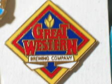 Great Western Brewing Co Beer Pin **