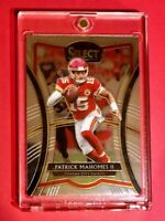 Patrick Mahomes HOT PANINI SELECT PREMIER LEVEL CHIEFS INVESTMENT CARD #129 Mint