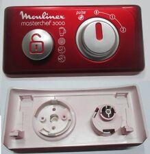 MASCHERINA COMANDO ROSSO ROBOT DA CUCINA MOULINEX MASTERCHEF 3000 FP3121B1/700