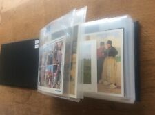 More details for 110 vintage dutch postcards in album netherlands holland children artist signed