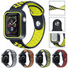 Silicone Sports Replacement Band Strap For Apple Watch 40 44 38 42mm Series 5 4
