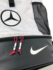 Nike Sports Backpack Mercedes-Benz Bag Embroidered Logo Limited Edition
