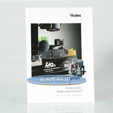 Original Rollei Prospekt - X-Act2 / Lens Control S