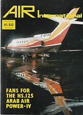 Air International - Vol 13 No 3 Spt 1977 Arab Air Power - Hawker Siddeley HS 125