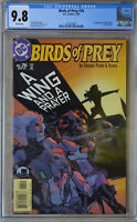 BIRDS OF PREY #76 (Jan 2005 | DC) CGC 9.8 (NM/MT) WHITE Pages - 1st Black Alice