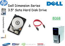 """80 GB Dell Dimension 9100 3.5"""" SATA disco duro (HDD) de reemplazo/UPGRADE"""