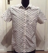 "Burton Menswear Fitted Shirt Size M 38-41"" Chest"