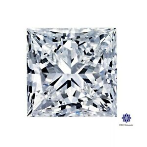 US seller Fast shipping  EFcolor VS-VVS Lab Moissanite Loose stone Princess cut