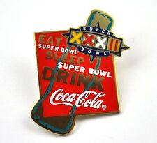 COCA-COLA COKE EE.UU. Solapa Pin PIN BADGE Broche - EAT SLEEP SUPER Cuenco