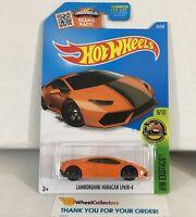 Lamborghini Huracan LP610-4 #76 * ORANGE * 2016 Hot Wheels * NC26