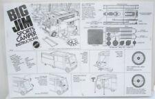 1972 Big Jim Sports Camper Instruction Sheet - Copy, Laminated