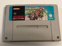 SNES Super Mario Kart Original Super Nintendo Game PAL