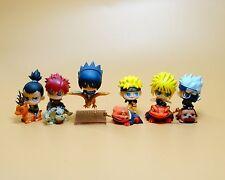 lot of 7 naruto anime mini figure figures 5CM #jjh7