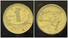 BRESIL  1 cruzeiro 1947