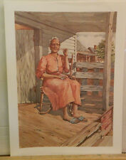 """Miss Tilley By Lisa S. Brown SIGNED & NUMBERED Art Print 17"""" x 12.5"""" Excellent"""