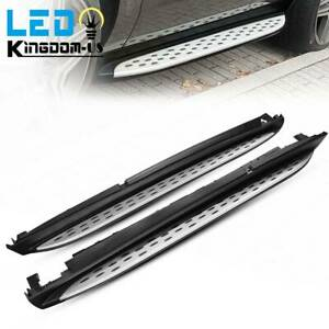 YiXi-Partswell Running Boards Side Steps Pedals Nerf Protector Bar fits for Mercedes Benz W166 ML ML350 2013-2016