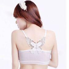 Bandeau Women Strapless Tube Top Butterfly Bra Lace