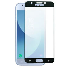For Samsung Galaxy J7 2018 Black Tempered Glass Shatterproof Screen Protector