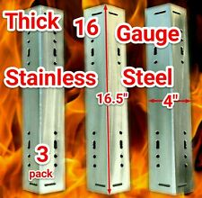 """Smoke Hollow Grill PS9500 Thick 16.5"""" Stainless Steel Heat Plates Flame Tamers"""