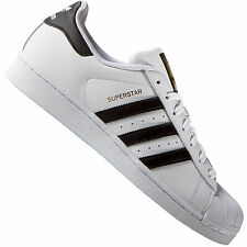 adidas Superstar 2 Originals Shoes White Leather Trainers C77124 Mens US 8