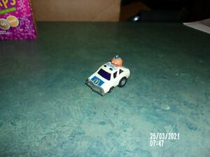 VINTAGE MCDONALDS BIG MAC CAR W/ MAYOR MC CHEESE POLICE PULL BACK CAR ERTL 1984