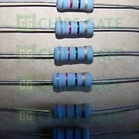 40PCS Metal Film Resistor 2W Watt 1% 82 ohm