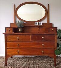 Antique Australian 19th Century Handmade Country Dresser