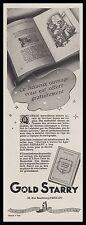 Publicité GOLD STARRY Stylo Plume Porte Plume vintage ad  1941 - 1i