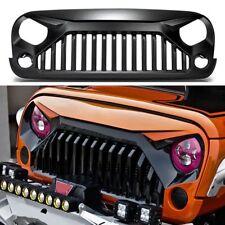 Newest Jeep Wrangler JK JKU 2007-2017 Angry Bird Front Matte Grille Gladiator