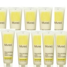 Murad Youth Builder Rejuvenating Aha Hand Cream Travel Size, 1 Ounce (10-Pack)
