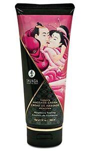 SHUNGA 200 ml Raspberry Feeling Kissable Edible Massage Cream/Lotion,Oil