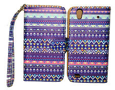 Stylish Tribal Design Wallet Leather Case for ZTE ZMAX Z970