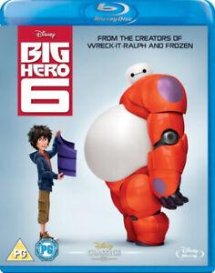 Big Hero 6 [Blu-ray] [Region Free] [Blu-ray] - DVD - Free Shipping. - New