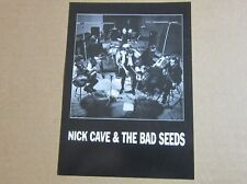 NICK CAVE & THE BAD SEEDS—1992 PROMOTIONAL CARD